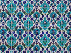 トルコ記念館 壁 模様 美しい