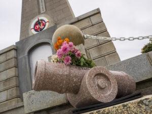 トルコ 記念碑 砲台