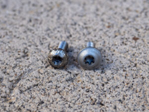 torx bolt compare